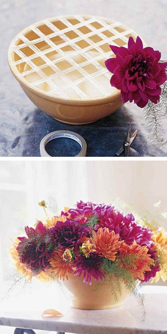 10 przydatnych porad i wskazówek przy układaniu kwiatów