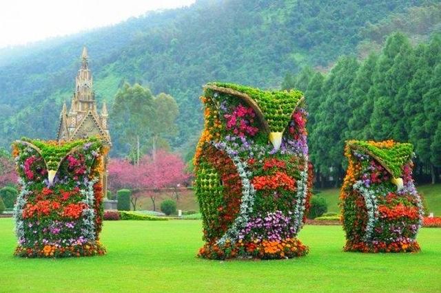 Rzeźby Kwiatowe