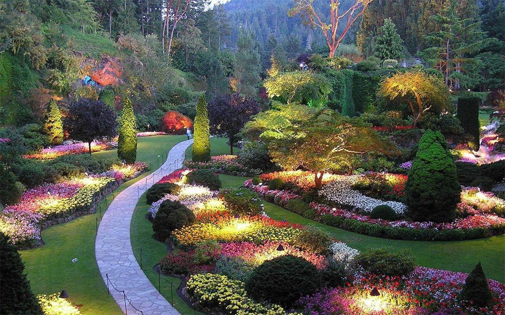 Zobacz jak wyglądają najpiękniejsze ogrody na świecie ...