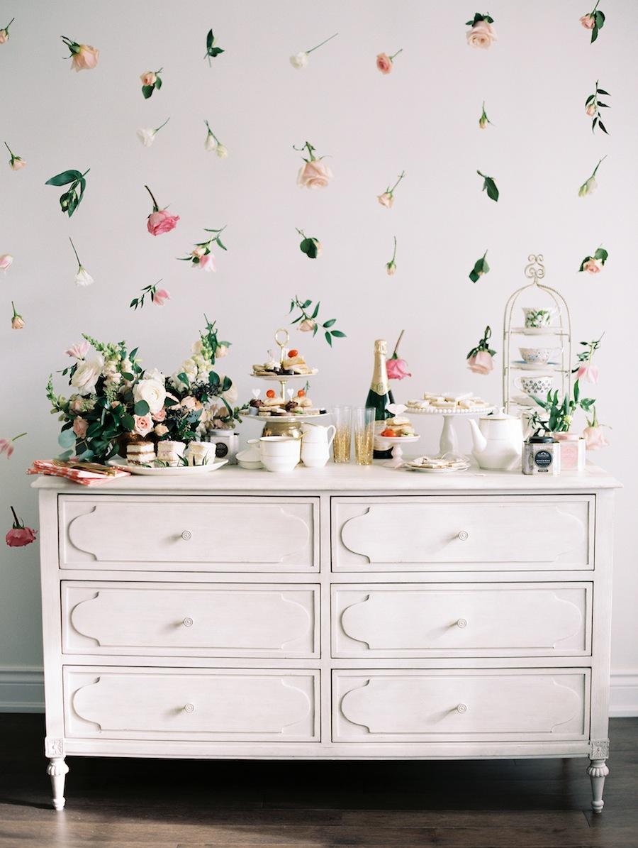 Ściana kwiatowa