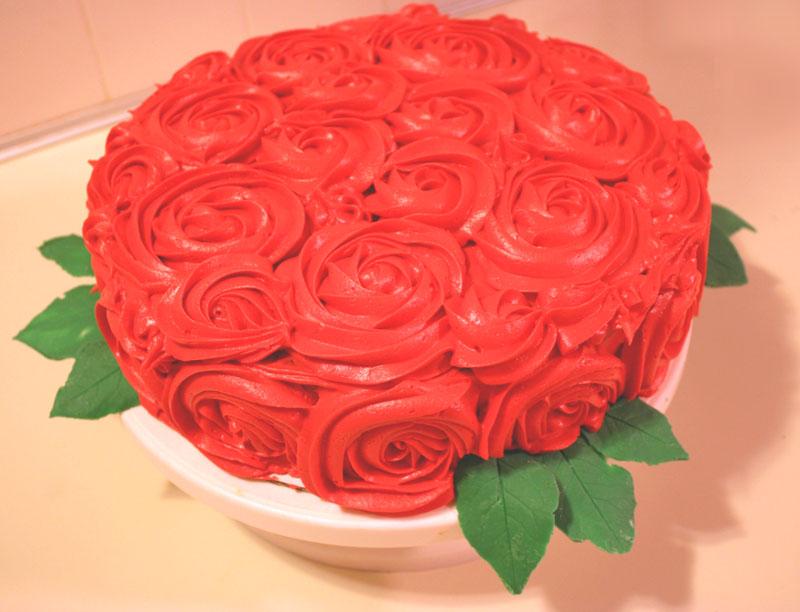 Рецепт крема для торта розы