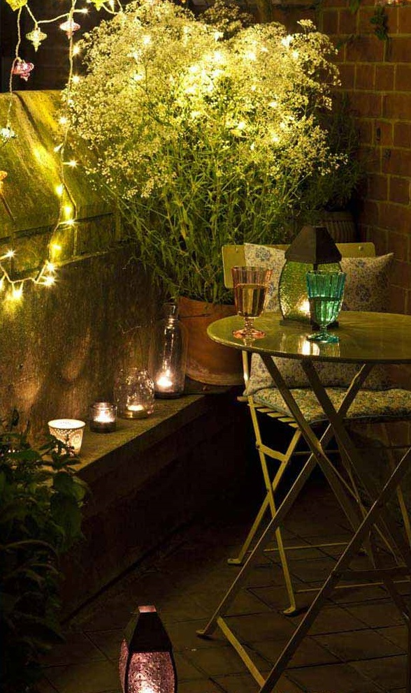 Inspirujące projekty ogrodu na małych balkonach