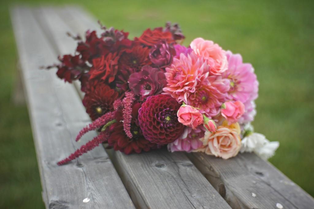Ombre kwiatowe