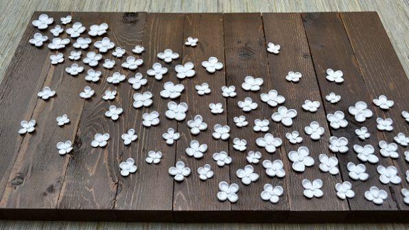Polimerowe kwiaty