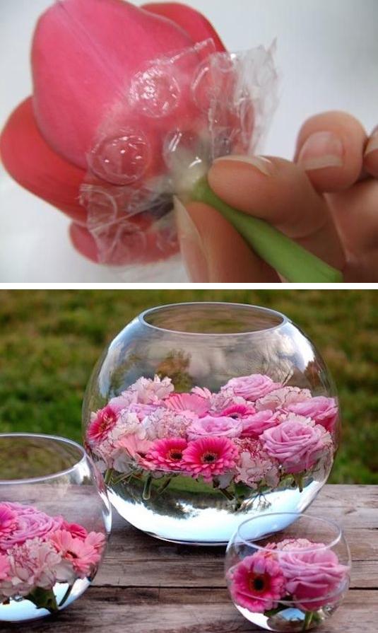 Układanie kwiatów - porady i pomysły