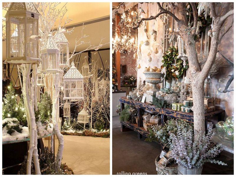 Przygotowania do świąt Bożego Narodzenia w kwiaciarni