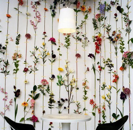 Jak Zrobić Piękną ścianę Z Kwiatów Blog Florystyczny
