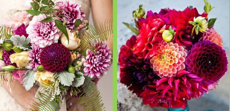 Jakie kwiaty na bukiet ślubny w sierpniu